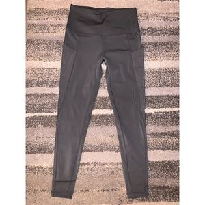 Pants - Grey Leggings with Pockets